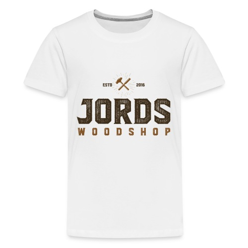 New Age JordsWoodShop logo - Kids' Premium T-Shirt