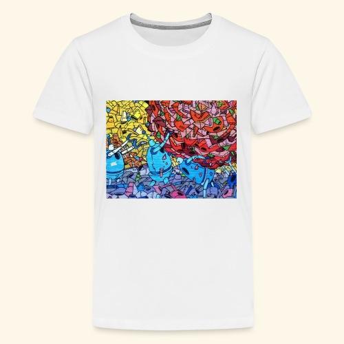 Graffiti Decal - Kids' Premium T-Shirt