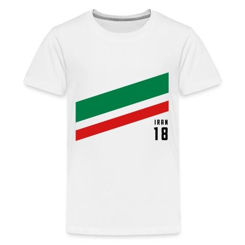 Iran Stipes - Kids' Premium T-Shirt