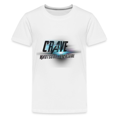 NEW_LOGO_CRAVE - Kids' Premium T-Shirt
