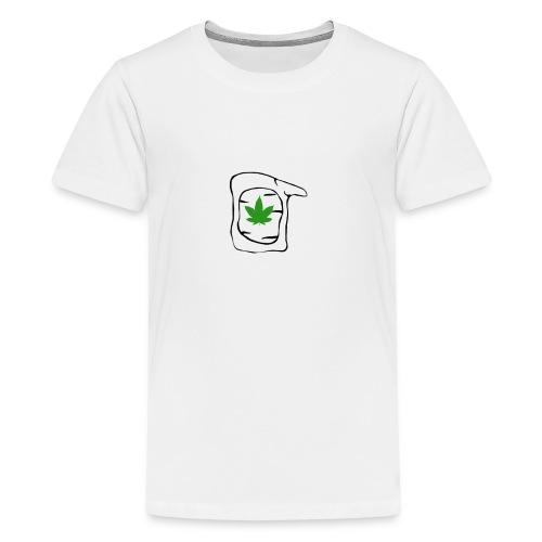 LEAF FACE - Kids' Premium T-Shirt