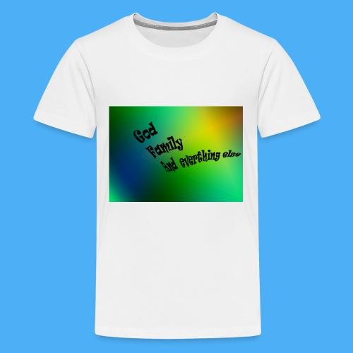 God Family And Everything Else - Kids' Premium T-Shirt