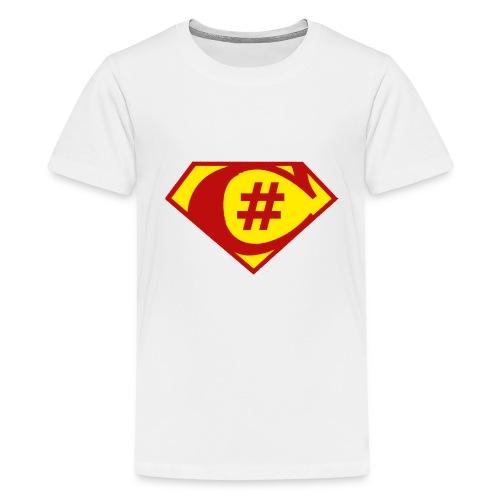 C Sharp Hero Developer - Kids' Premium T-Shirt