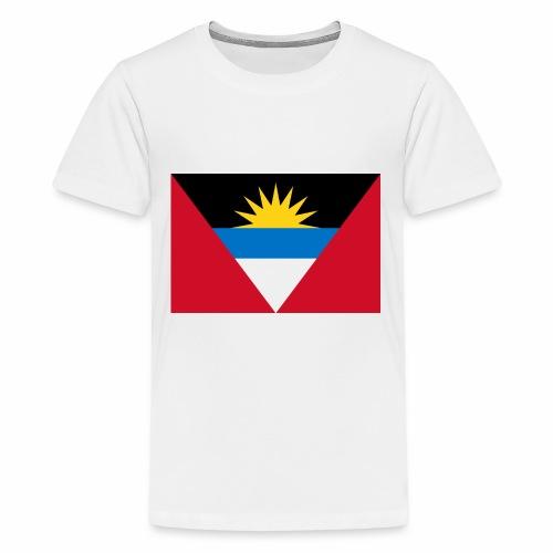 Flag of Antigua and Barbuda - Kids' Premium T-Shirt