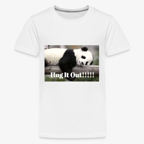 Hug It out Panda Merch - Kids' Premium T-Shirt