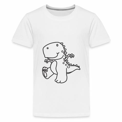 Cute Dinosaur - Kids' Premium T-Shirt