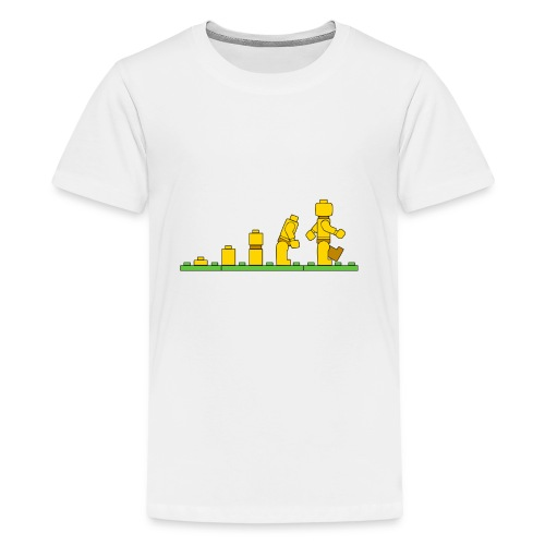 Lego Man Evolution - Kids' Premium T-Shirt