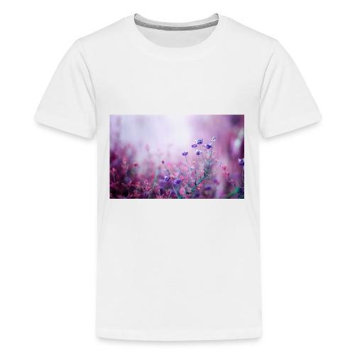 Life's field of flowers - Kids' Premium T-Shirt