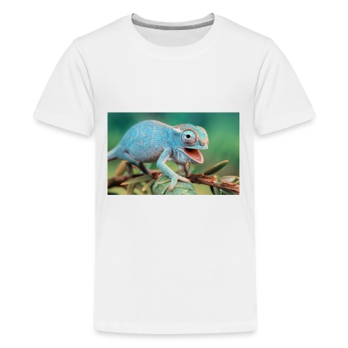 King Chameleon - Kids' Premium T-Shirt