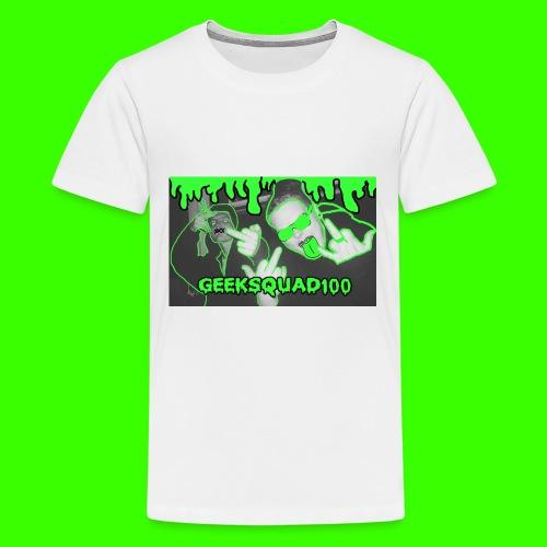 Geeksquad100 - Kids' Premium T-Shirt