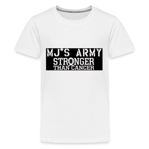 Mjs Army Stronger Than Cancer - Kids' Premium T-Shirt