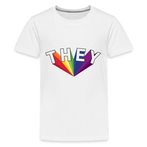 They | LGBT Pride 2018 - Kids' Premium T-Shirt