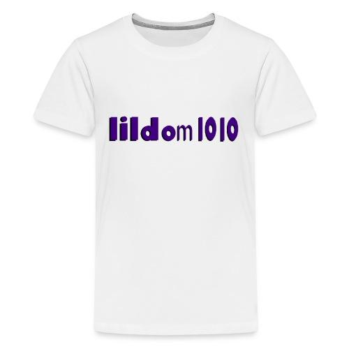 lildom 1010 purple and bLACK - Kids' Premium T-Shirt