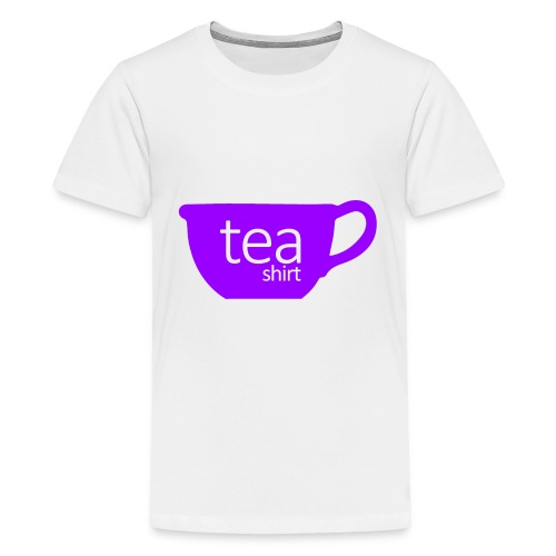 Tea Shirt Simple But Purple - Kids' Premium T-Shirt