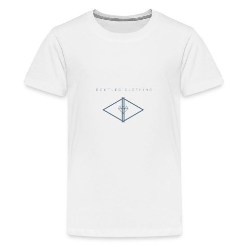 Bootleg Diamond Logo - Kids' Premium T-Shirt