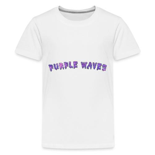 Purple Waves - Kids' Premium T-Shirt