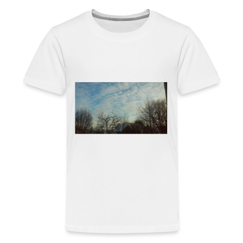 jersery winter sky - Kids' Premium T-Shirt