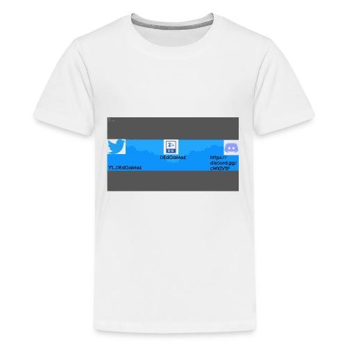 Channel Banner - Kids' Premium T-Shirt