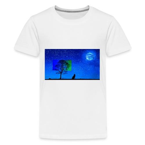 Grabthebar Lone Wolf - Kids' Premium T-Shirt