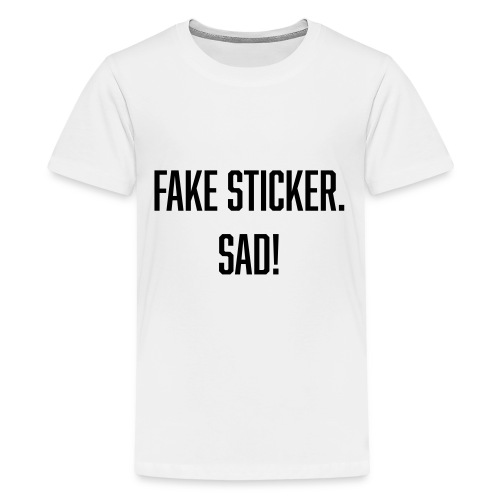 fake sticker - Kids' Premium T-Shirt