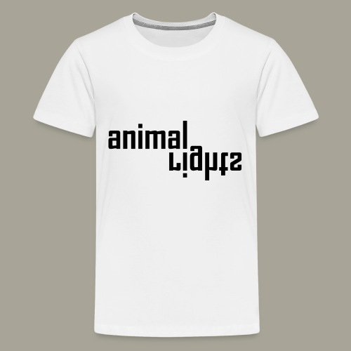 Animal Rights Protection Idea Gift - Kids' Premium T-Shirt