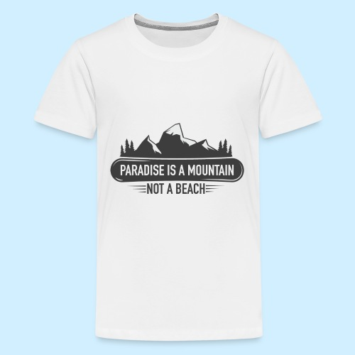MOUNTAIN PARADISE - Kids' Premium T-Shirt