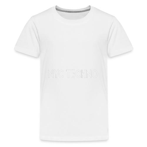NYC Techno Skyline - Kids' Premium T-Shirt