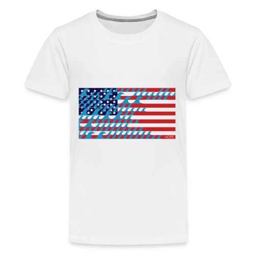 The Blue Wave is Coming - Kids' Premium T-Shirt