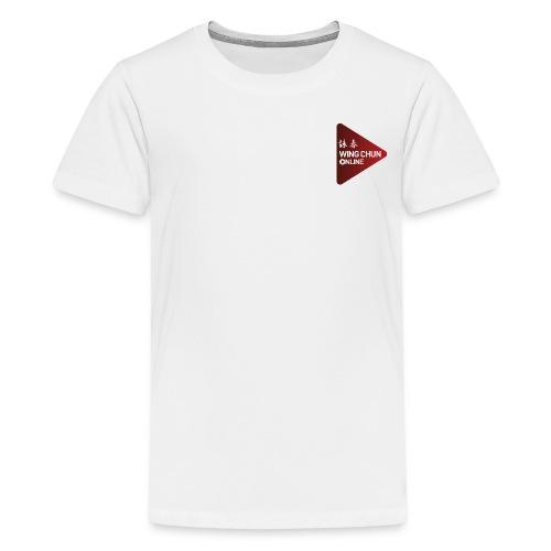 Wing Chun Online Logo - Kids' Premium T-Shirt