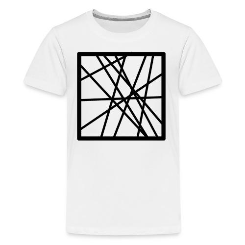 Square Line - Kids' Premium T-Shirt