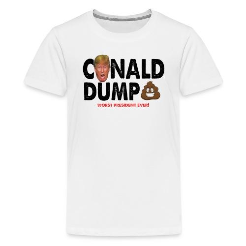 Conald Dump Worst President Ever - Kids' Premium T-Shirt