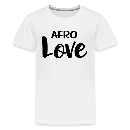 Afro Love Natural Hair TShirt - Kids' Premium T-Shirt
