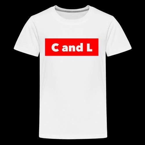 C and L Red Box - Kids' Premium T-Shirt