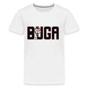 Official BUGA Logo - Kids' Premium T-Shirt