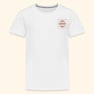Broken floral circle - Kids' Premium T-Shirt