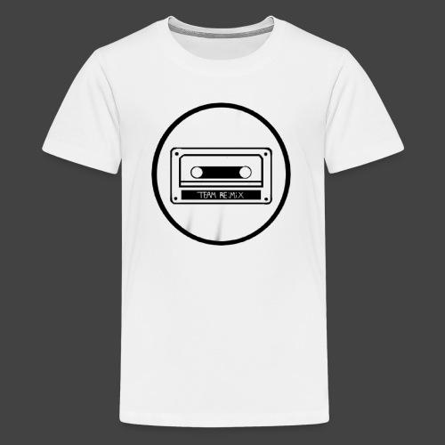 team remix Black variant - Kids' Premium T-Shirt