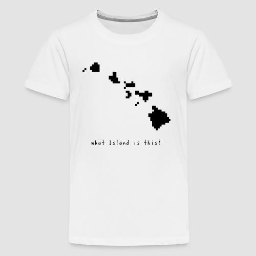 hawaiimap - Kids' Premium T-Shirt