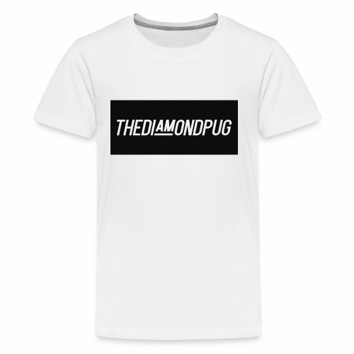 TheDiamondPug Rectangle - Kids' Premium T-Shirt