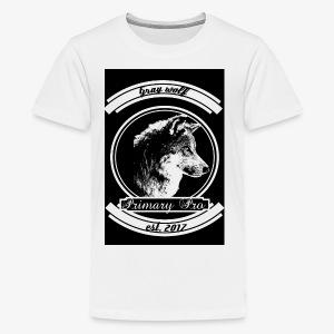 Grey Wolf - Kids' Premium T-Shirt