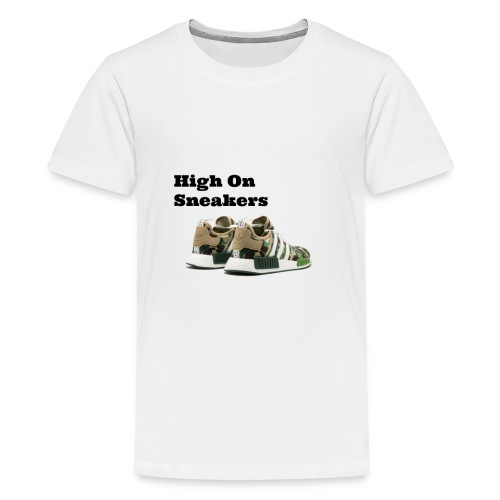 High On Sneakers - Kids' Premium T-Shirt
