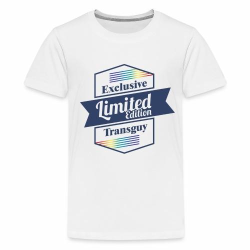Limited Edition Transguy - Kids' Premium T-Shirt