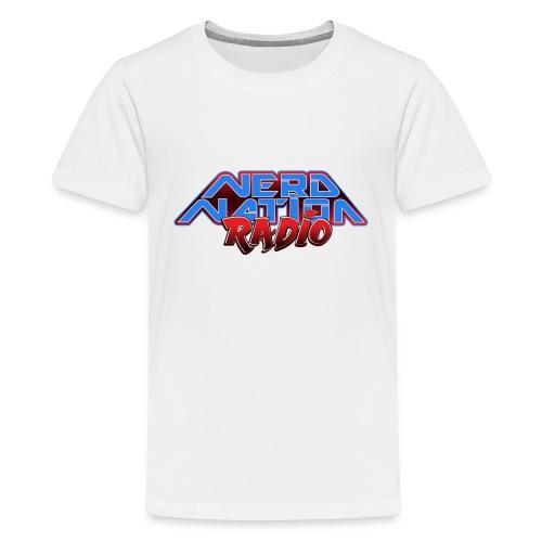 Nerd Nation Logo - Kids' Premium T-Shirt