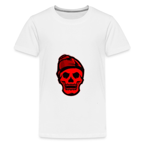 RED Skeleton HaHaHaHa - Kids' Premium T-Shirt