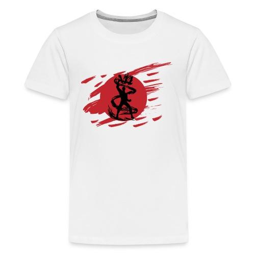 Dark Ninja Shadow Sword Fantasy Silhouette - Kids' Premium T-Shirt