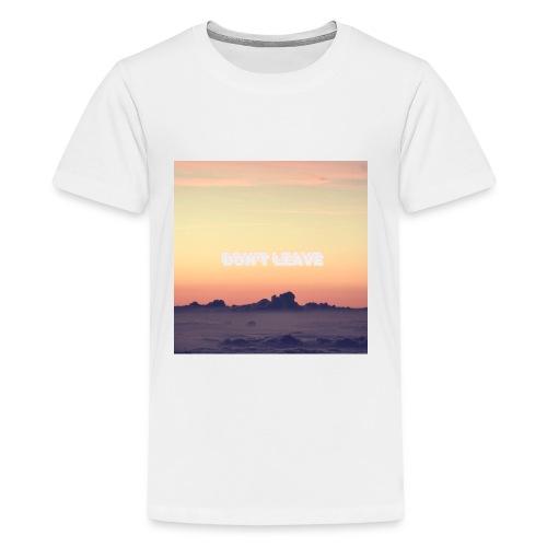 """Don't leave"" aesthetic vintage vibes - Kids' Premium T-Shirt"