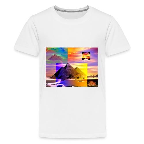 The Pyramids - Kids' Premium T-Shirt