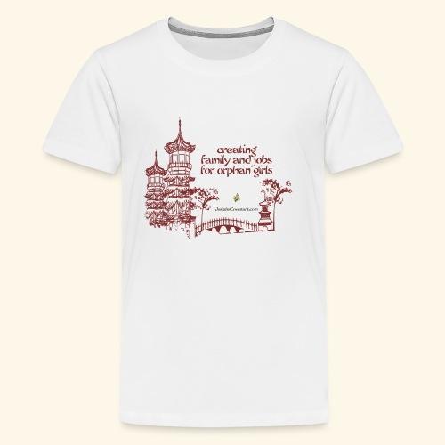 Josiah's Covenant - creating family - Kids' Premium T-Shirt