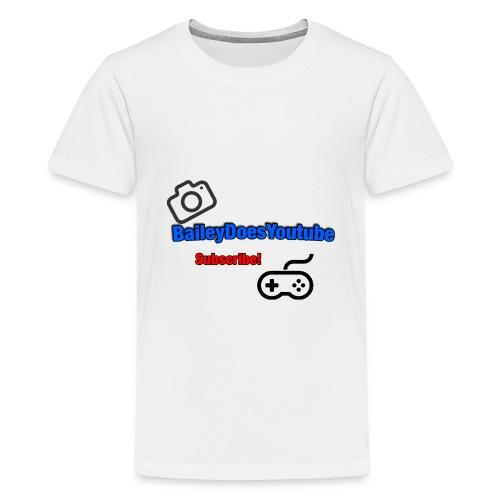 BaileyDoesYoutube - Kids' Premium T-Shirt