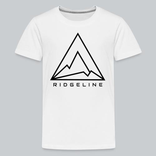 Ridgeline Black and White - Kids' Premium T-Shirt