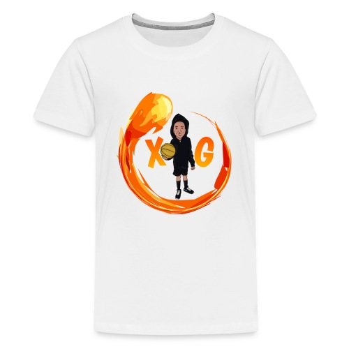 XG logo - Kids' Premium T-Shirt